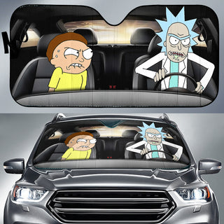 Rick and Morty Limited Edition Auto Sun Shades
