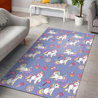 Sweet Unicorn Area Rug