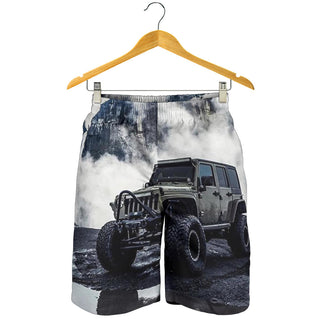 Jeep Art All Over Print Men's Short