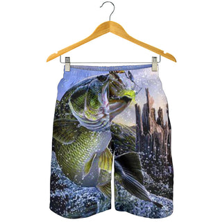 Fishing All Over Print Men's Short
