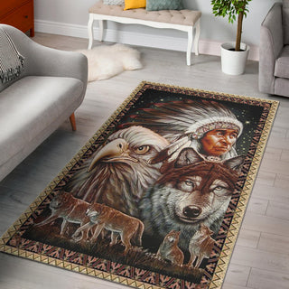 Native American Premium Carpet Home Decor