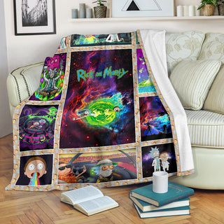 Rick & Morty Premium Blanket