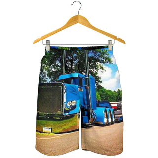 Trucker All Over Printed Men's Short