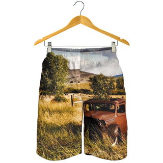 Farmer 3D All Over Printed Men's Short