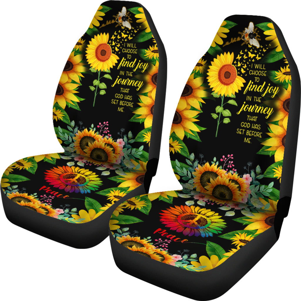 Sun Flower Car Seat Cover