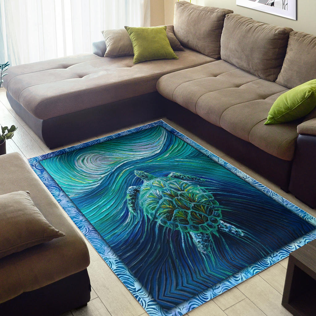 Sea Turtle Premium Carpet for Home