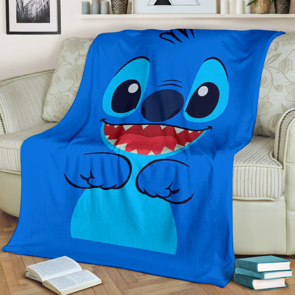 Lovely Stitch Premium Blanket
