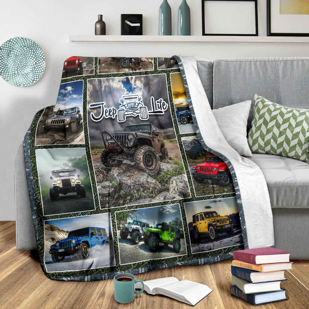 Jeep Addict Premium Blanket