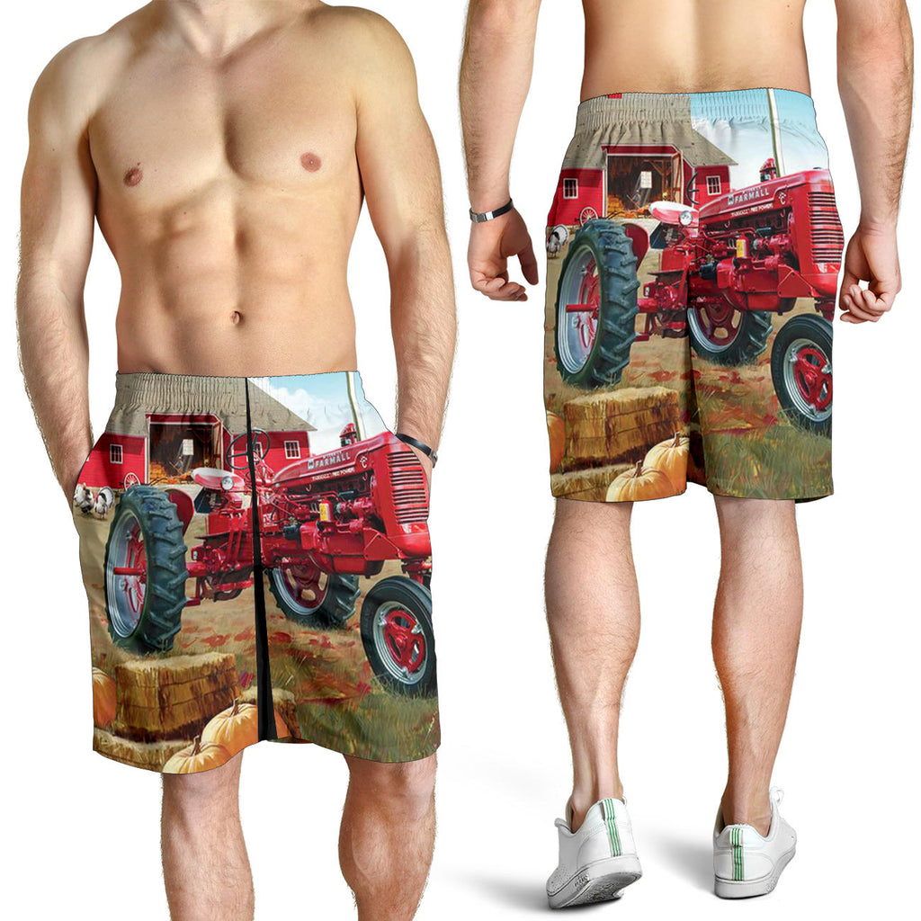 Farmer 3D Printed Men's Short
