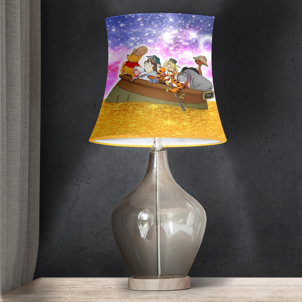 Pooh and Company Drum Lamp Shade for Home