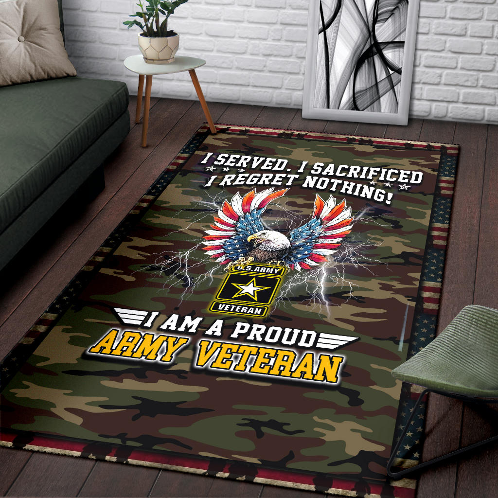 Army Veteran Premium Carpet
