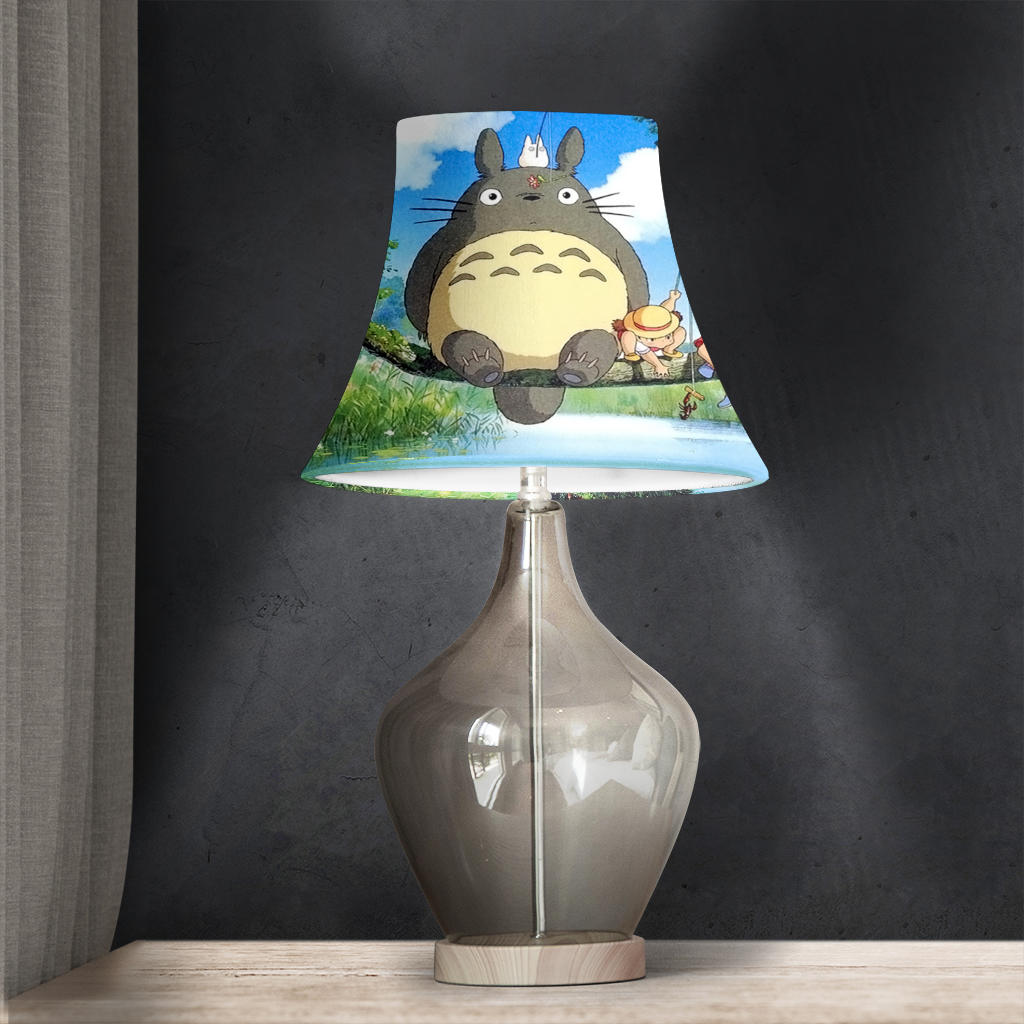 Totoro Decorated Bell Lamp Shade