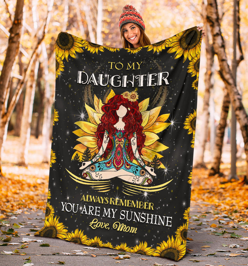 Daughter, you are my sunshine - Premium Blanket