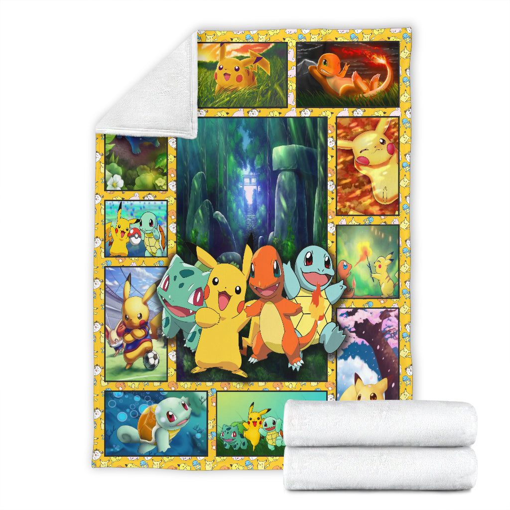 Pokemon Premium Blanket