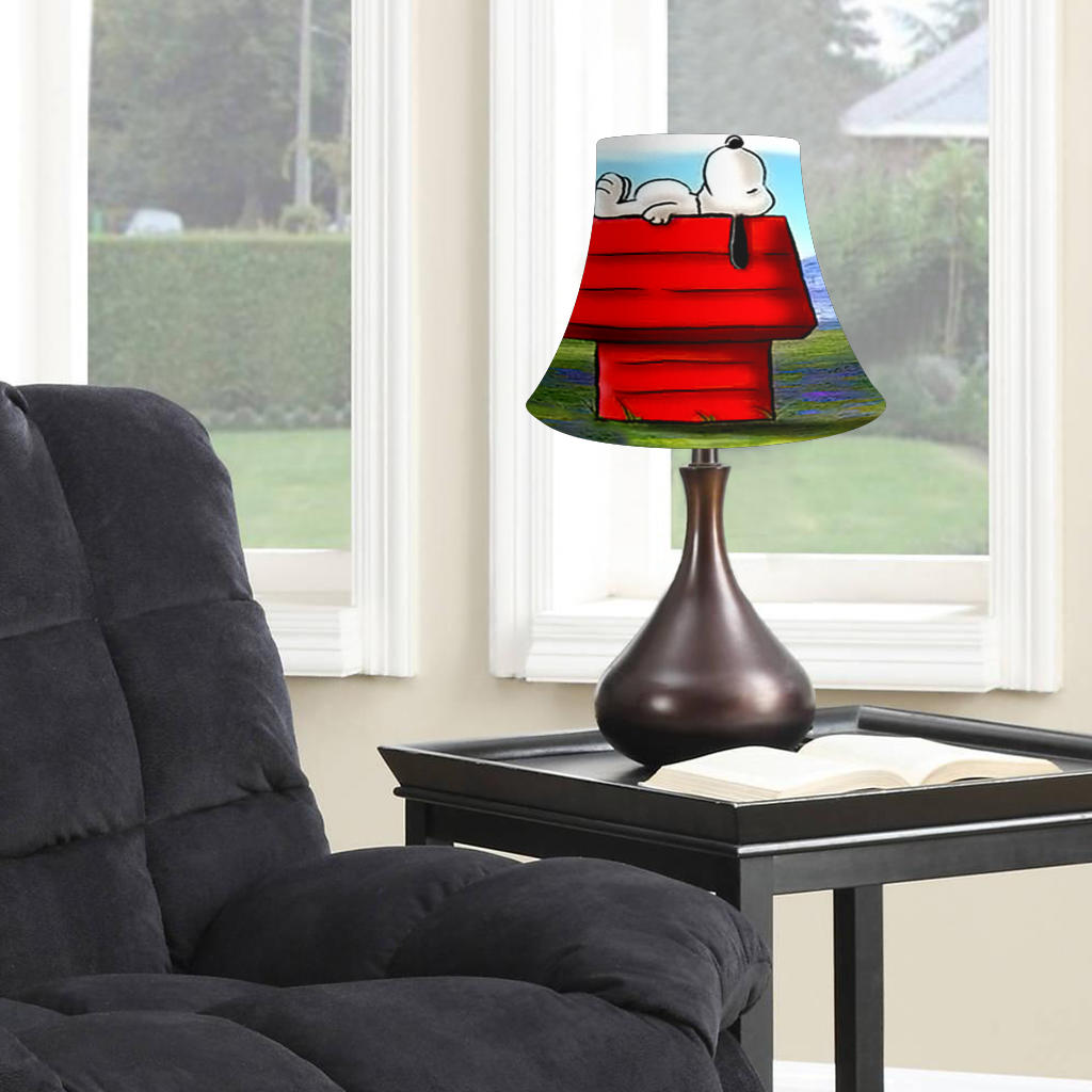 Snoopy Decorated Bell Lamp Shade for Home