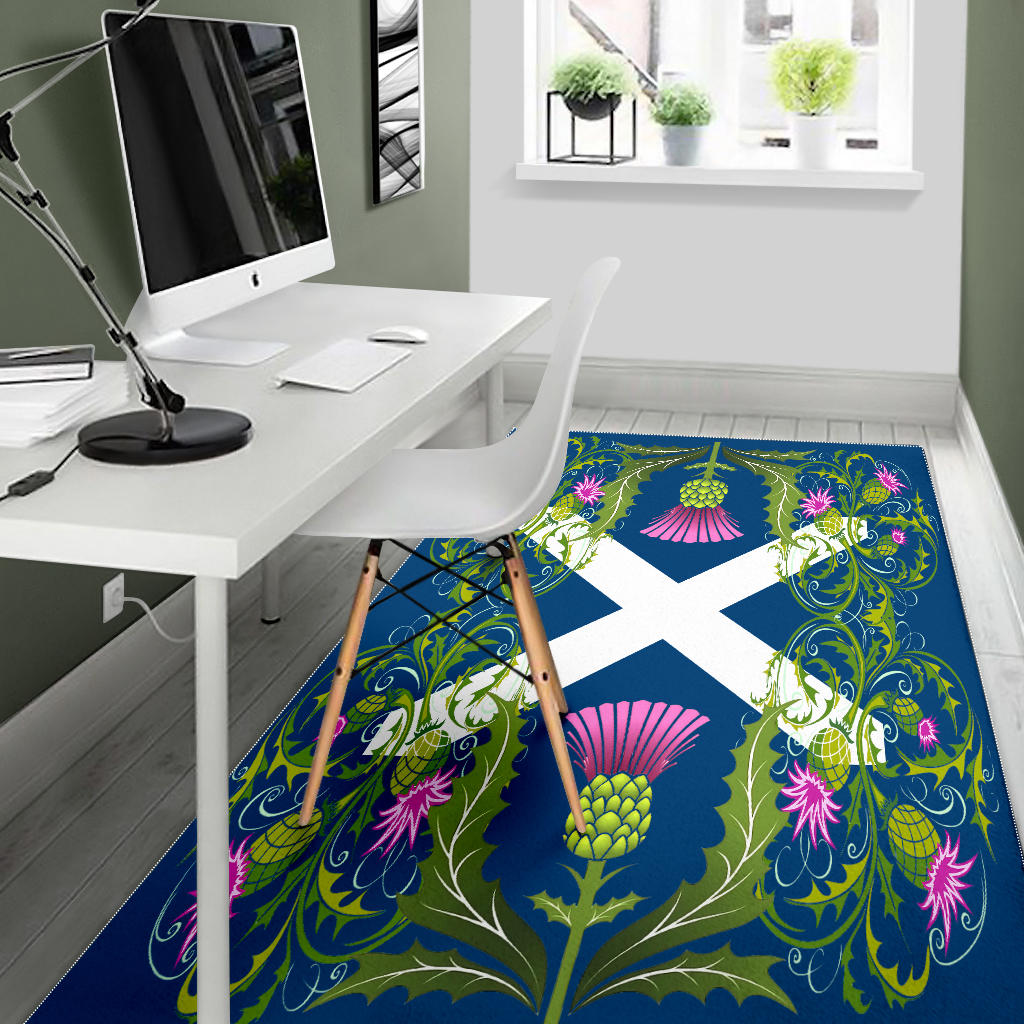 Scotland Pattern Premium Area Rug/ Carpet