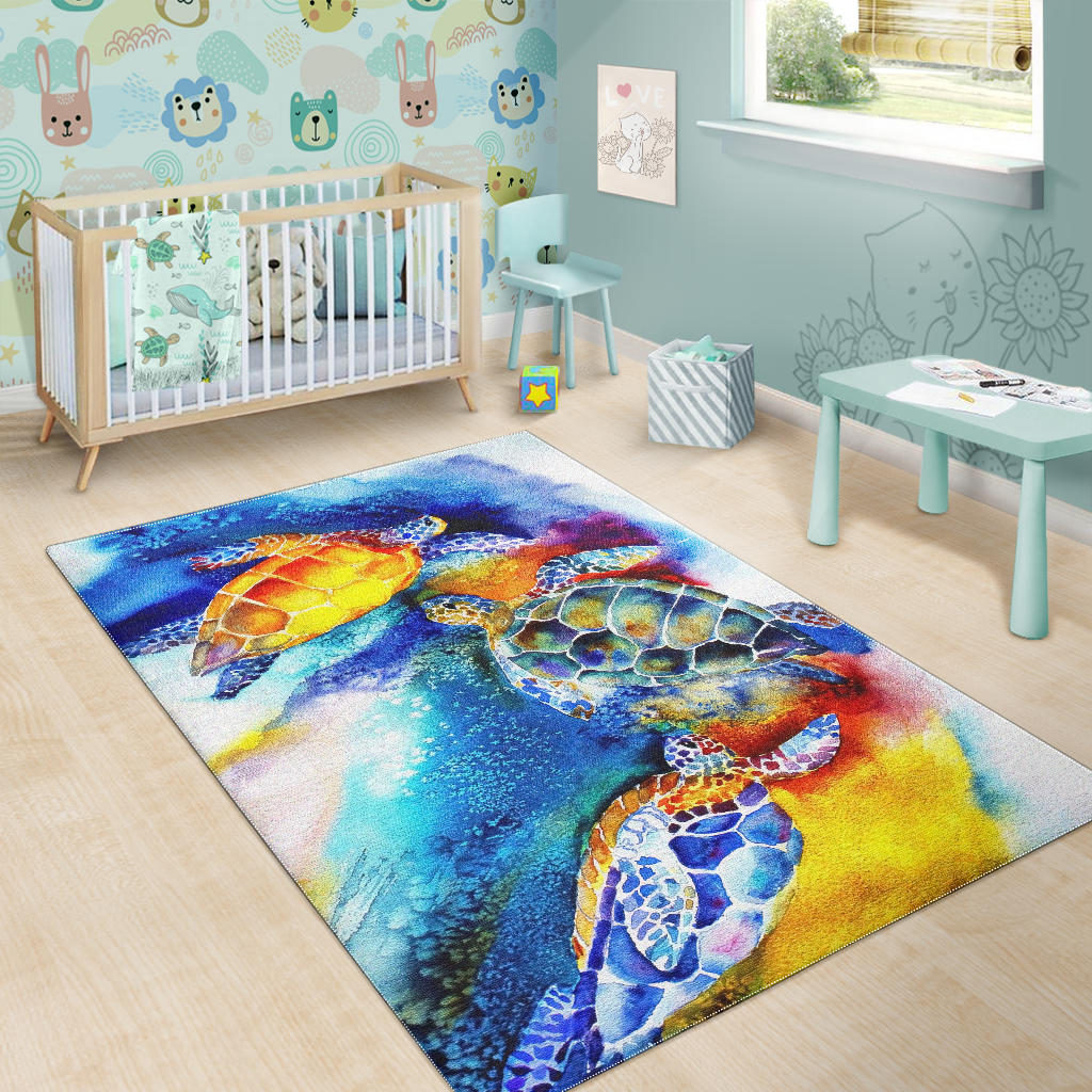 Yellow Turtle Premium Carpet for Home