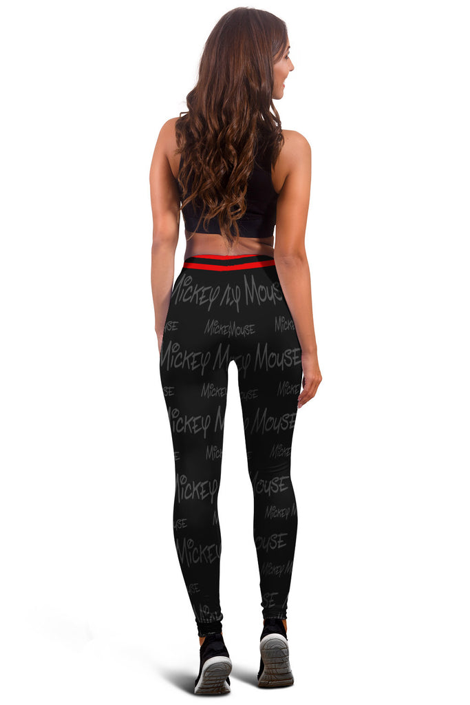Mickey Mouse Design Leggings