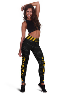 Bart Simpson Exclusive Design Leggings