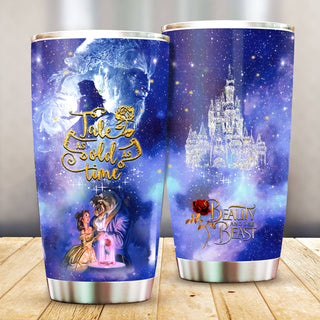 Beauty and the Beast Stainless Steel Tumbler