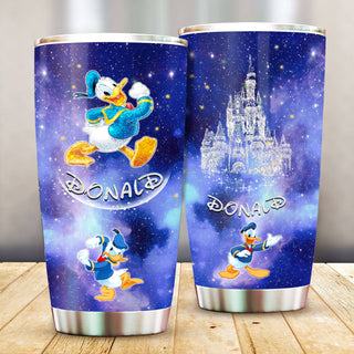 Donald Duck Pattern Stainless Steel Tumbler