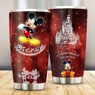 Mickey Mouse Pattern Stainless Steel Tumbler