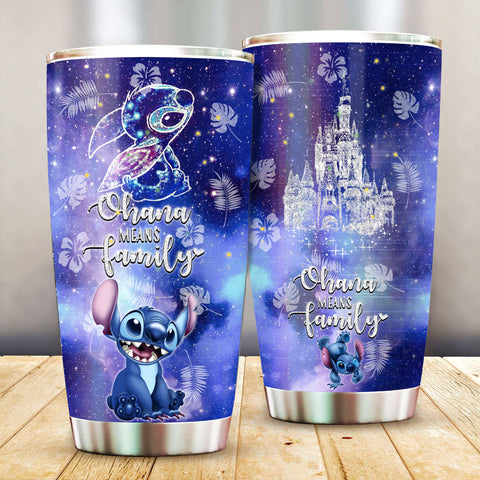 Stitch Pattern Stainless Steel Tumbler