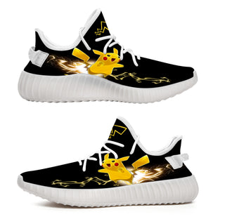 Pikachu Lightning - Limited Edition Yeezy Shoes