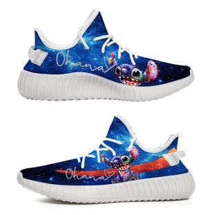 Stitch Ohana Galaxy - Limited Edition Yeezy Shoes