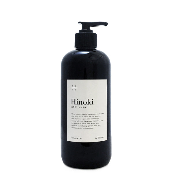Hinoki Body Wash 16 oz - te+te (te plus te)