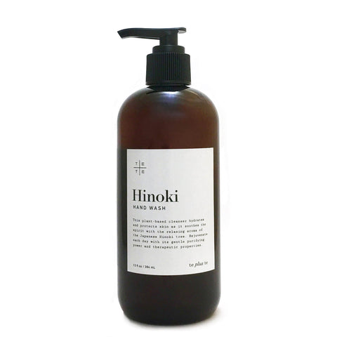 Hinoki Hand Wash made with organic ingredients