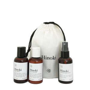 Hinoki Mini Travel Set No.2 - te+te (te plus te)