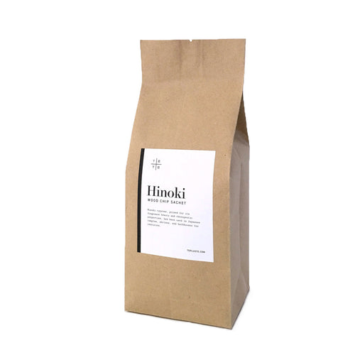 Hinoki Wood Chip Sachet - te+te (te plus te)