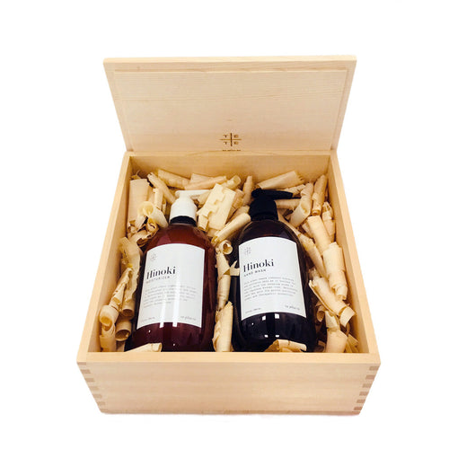 Hinoki Wood Box Duo Set - te+te (te plus te)