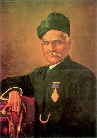 Self-Portrait by Raja Ravi Verma