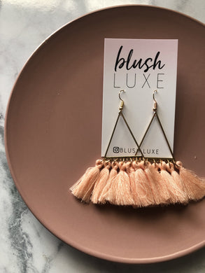 Taylor Earrings - BLUSH