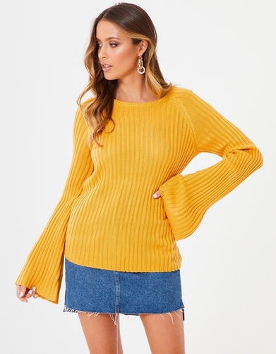 Bailey Knit - Mustard