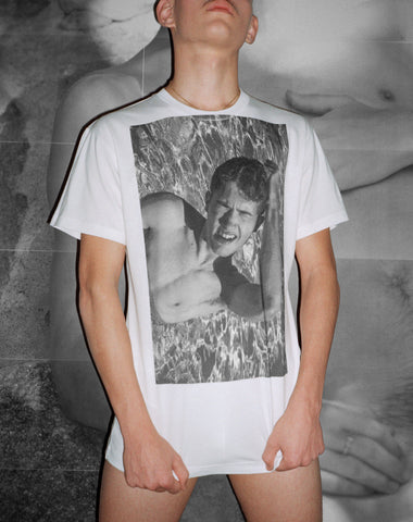 SPRING SPECIAL DISCOUNT! EY! POSTER BOY shirtby T-Shirt Gus Van Sant + Sean Ford