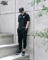 Black Polo Shirt Mensbatik