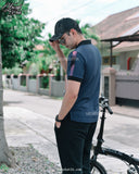 Navy Polo Shirt Mensbatik