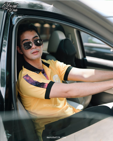 Yellow Polo Shirt Mensbatik