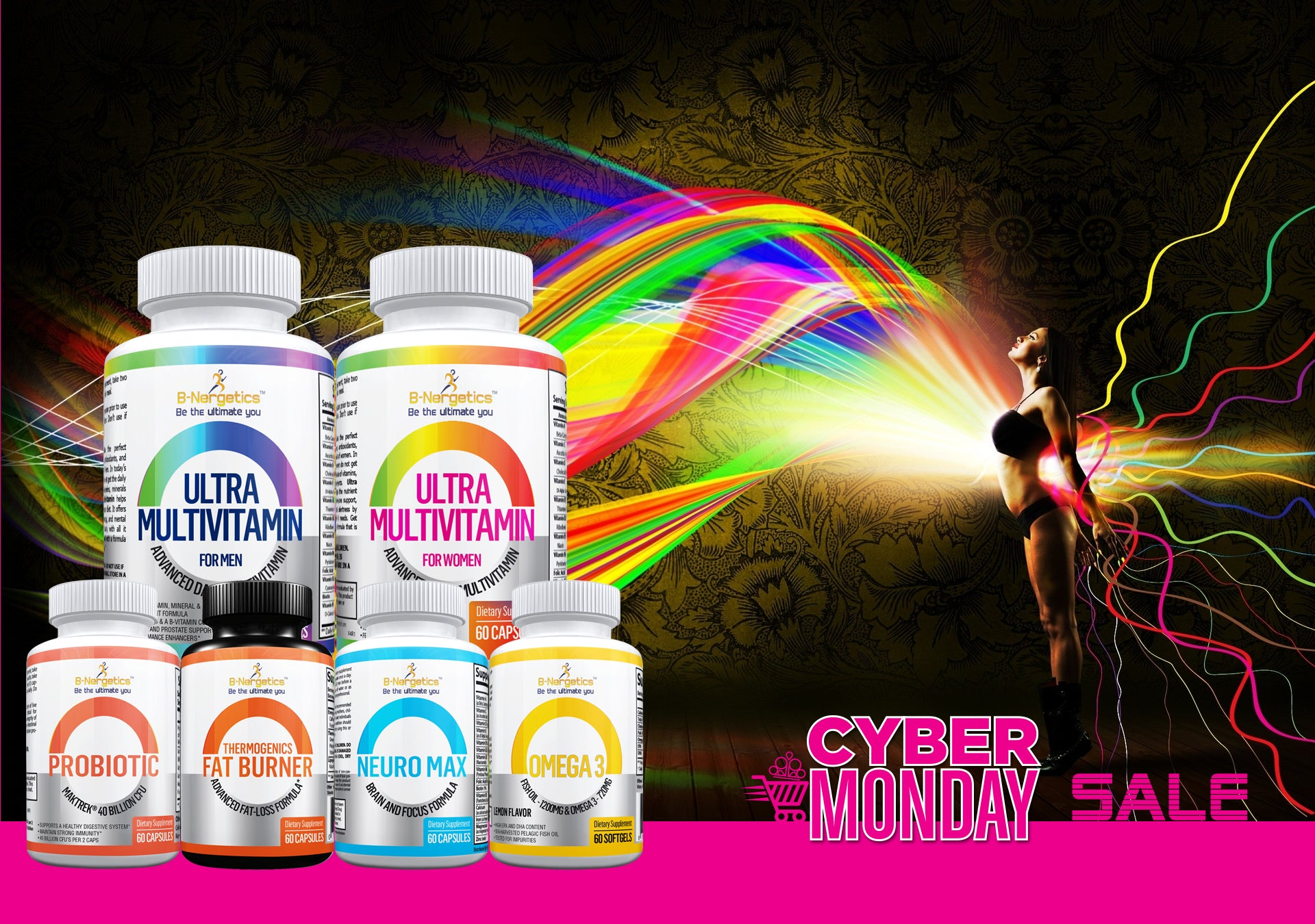 Sale Continues with Cyber Monday Vitamin Discounts