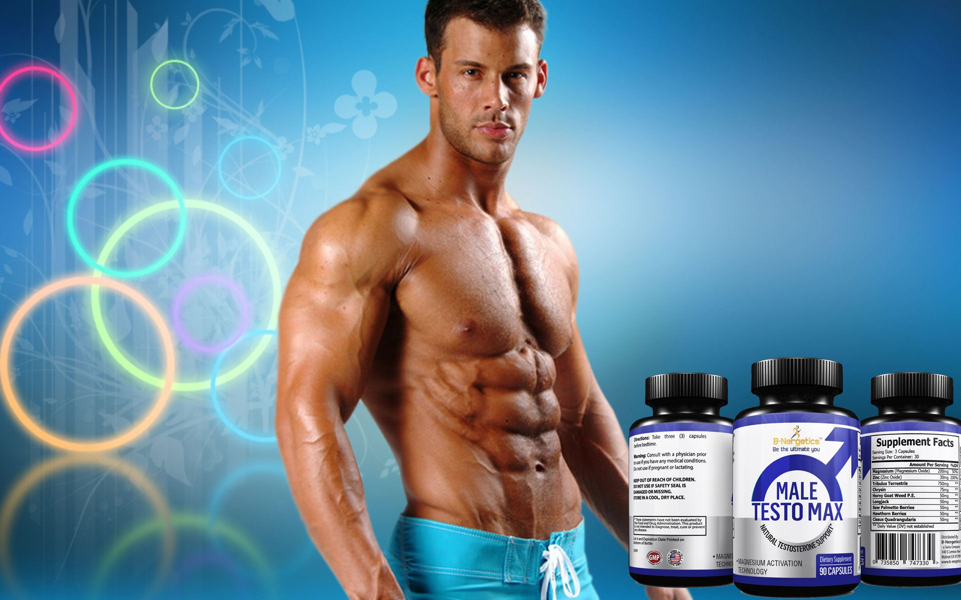 Male Testo Max - Testosterone Booster Supplement