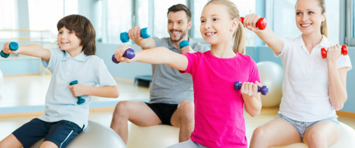 Family Fitness - A Way to Stay all Healthy and in Shape