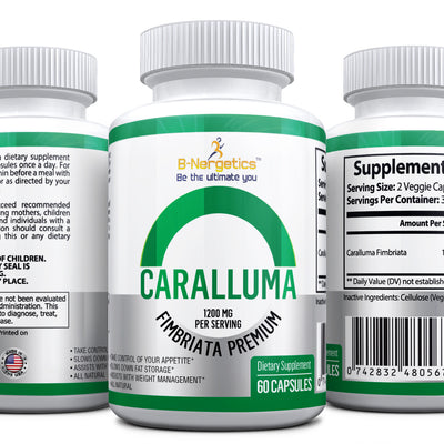 B-Nergetics Caralluma - appetite suppressant - fat burner - b-nergetics.com