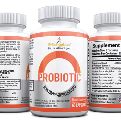 Probiotic 40 Billion CFU Tablets - b-nergetics.com