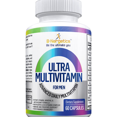 Ultra Multivitamin for Men - b-nergetics.com