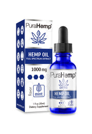 Premium CBD Oil 1000mg | #1 Doctor Recommended CBD Hemp Oil By PuraHemp