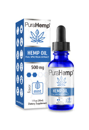 Premium CBD Oil 500mg | #1 Doctor Recommended CBD Hemp Oil | PuraHemp