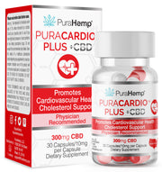 Cardiovascular Support with CBD Cholesterol support and heart health with cannabidiol helps support a healthy heart physician recommended